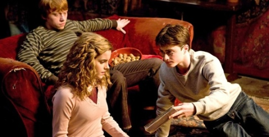 Ron Weasley, Hermione Granger and Harry Potter will return for one more movie.[Image from  http://smhttp.14409.nexcesscdn.net]