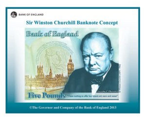 Image from  http://www.bankofengland.co.uk/banknotes/Pages/churchill.aspx